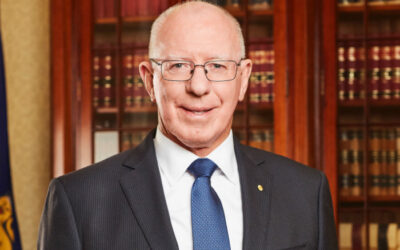 Governor-General David Hurley; new patron of Menzies Foundation