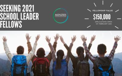 2021 Menzies School Leader Fellowship Program – taking applications 1 February 2021!